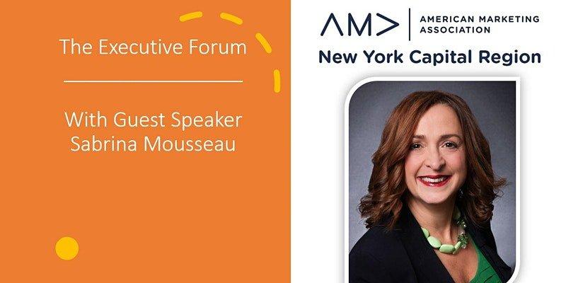 Executive Forum - Sabrina Mosseau